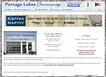 Keiffer Marine on the Portage Lakes
