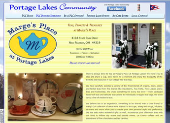 Marges Place - Portage Lakes Teas, Trinkets, Treasures