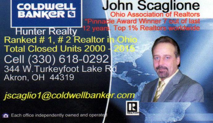 John Scaglione, Portage Lakes Realtor