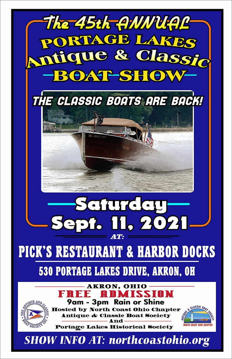 Classic Boat Show Poster